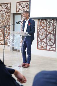 Guest speaker Mr Sipho Lawrence Mabona